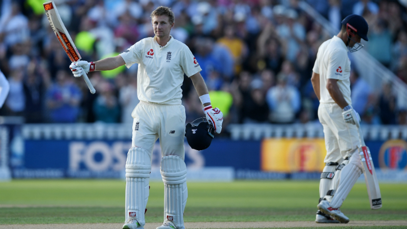 Root last scored a Test ton against the Windies in August 2017