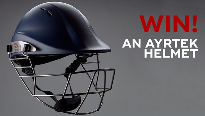 Win! Ayrtek batting helmet