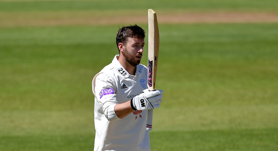 The Hampshire captain will move up the order at the county as well