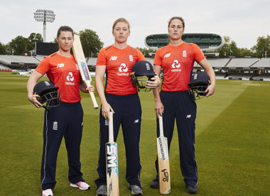 Heather Knight: 'There's real momentum behind women's sport'