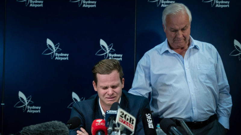 Former captain Steve Smith was banned for 12 months for his involvement in the ball-tampering controversy