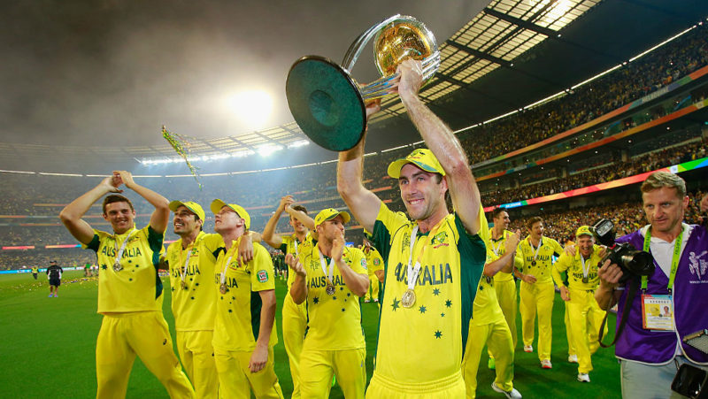 Australia men won three World Cups – in 2003, 2007 and 2011 – during the time Sutherland was at the helm