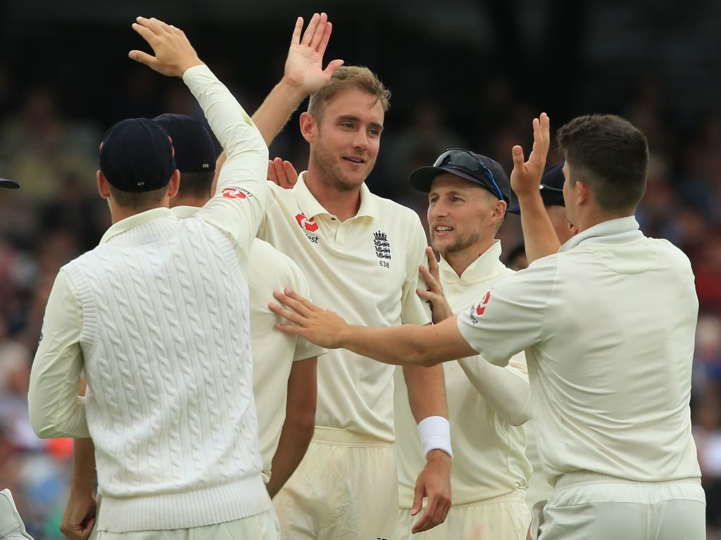 Joe Root said his senior pacemen - Broad and Anderson - set the tone for the victory