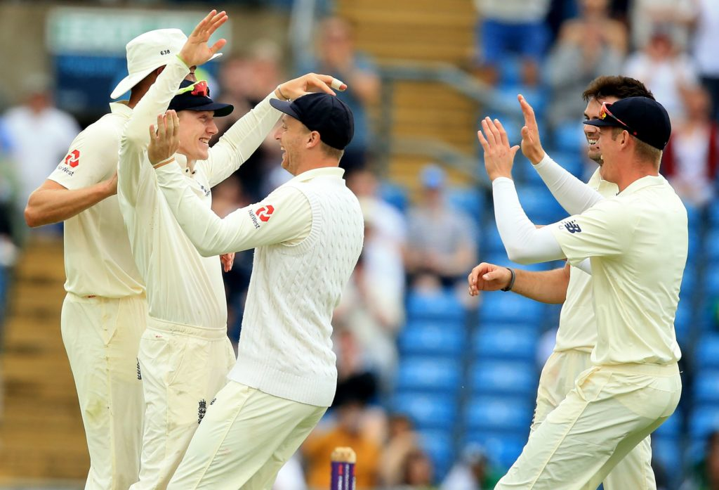 Dom Bess starred in a near-perfect day for England