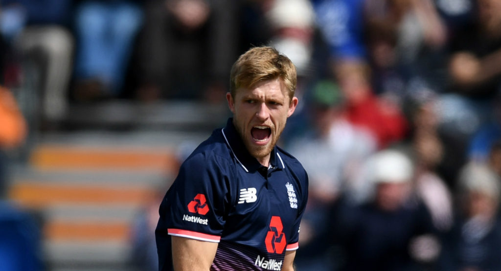 Willey is not assured of a place in the World Cup squad