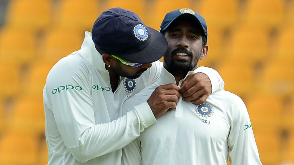 Saha returns, but will he pop straight back into the XI?