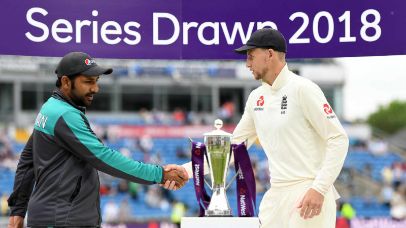 The two-Test series was split 1-1
