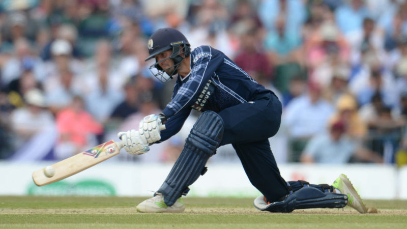 'Massive statement from Scottish cricket' – Calum MacLeod