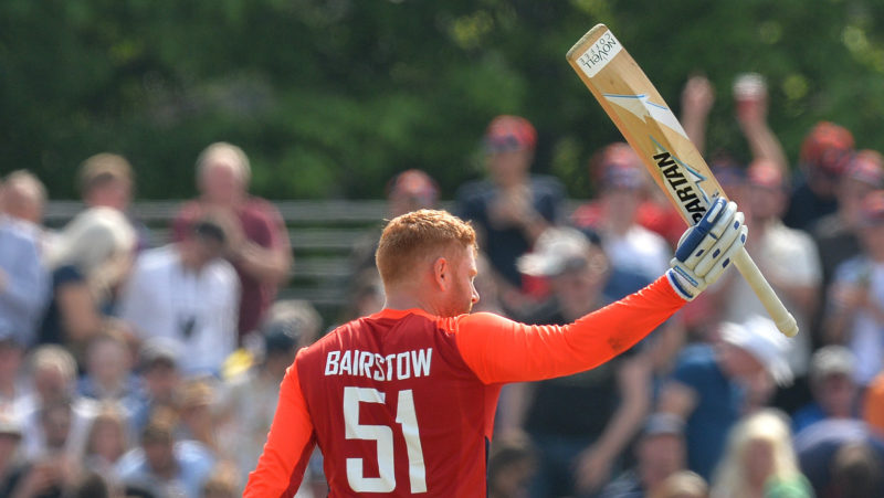 England were in the game as long as Jonny Bairstow was batting