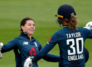 Tammy Beaumont, Sarah Taylor centuries help England pull level