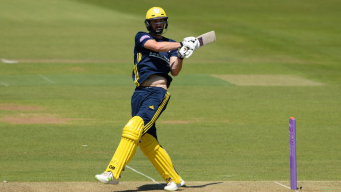 James Vince replaces Joe Denly at Sydney Sixers