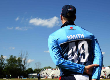 Steve Smith cracks 41-ball 61 on Toronto Nationals debut