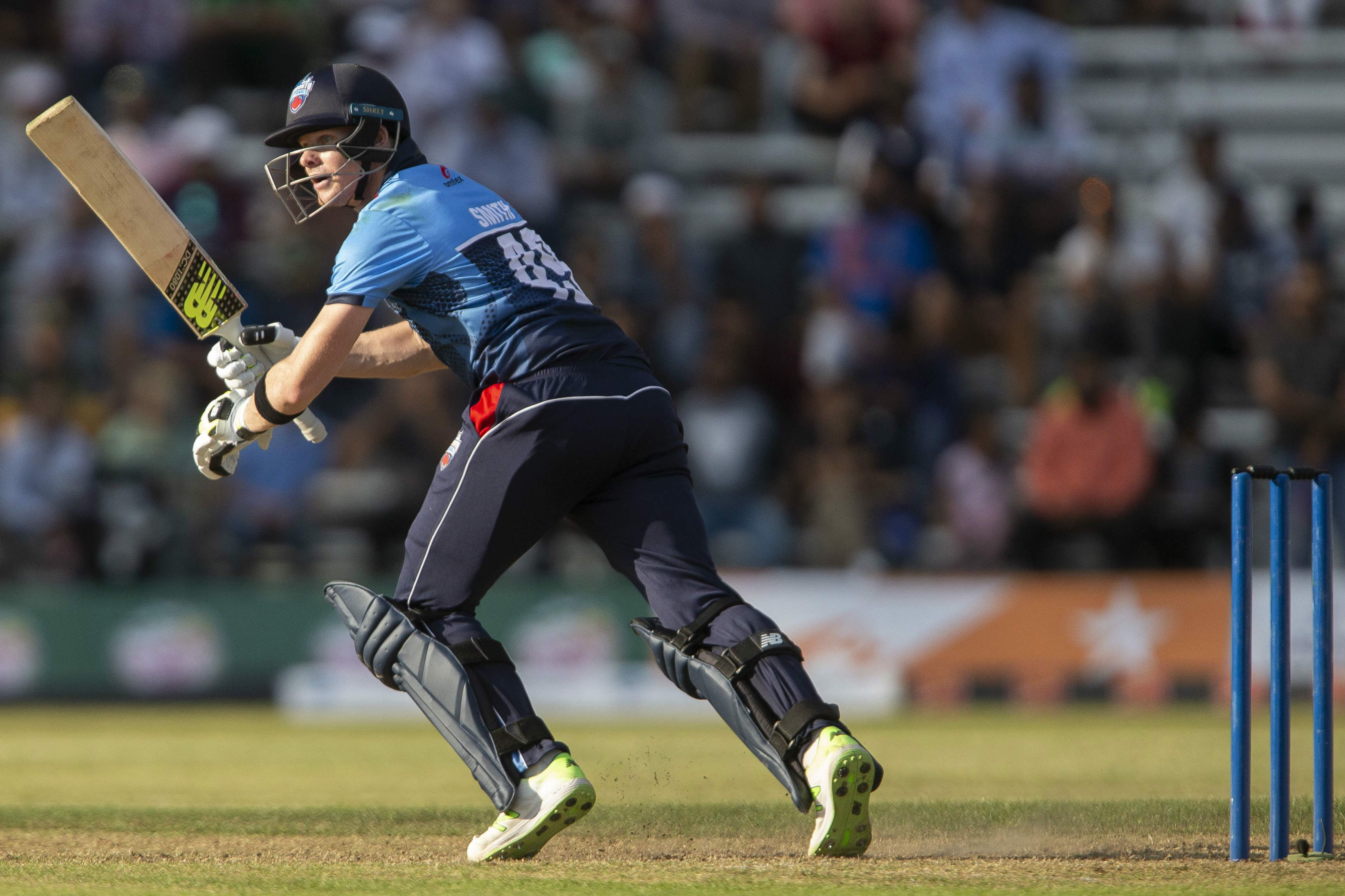 Steve Smith hit a brilliant 61 off 41 balls for Toronto Nationals