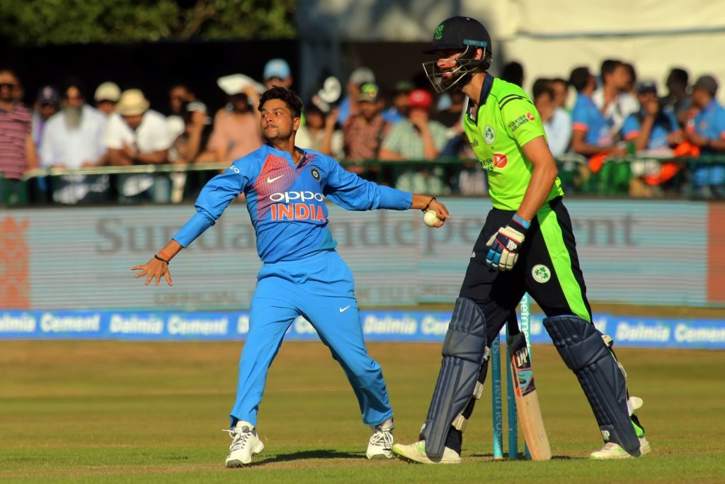 Kuldeep Yadav and Yuzvendra Chahal returned a combined seven wickets