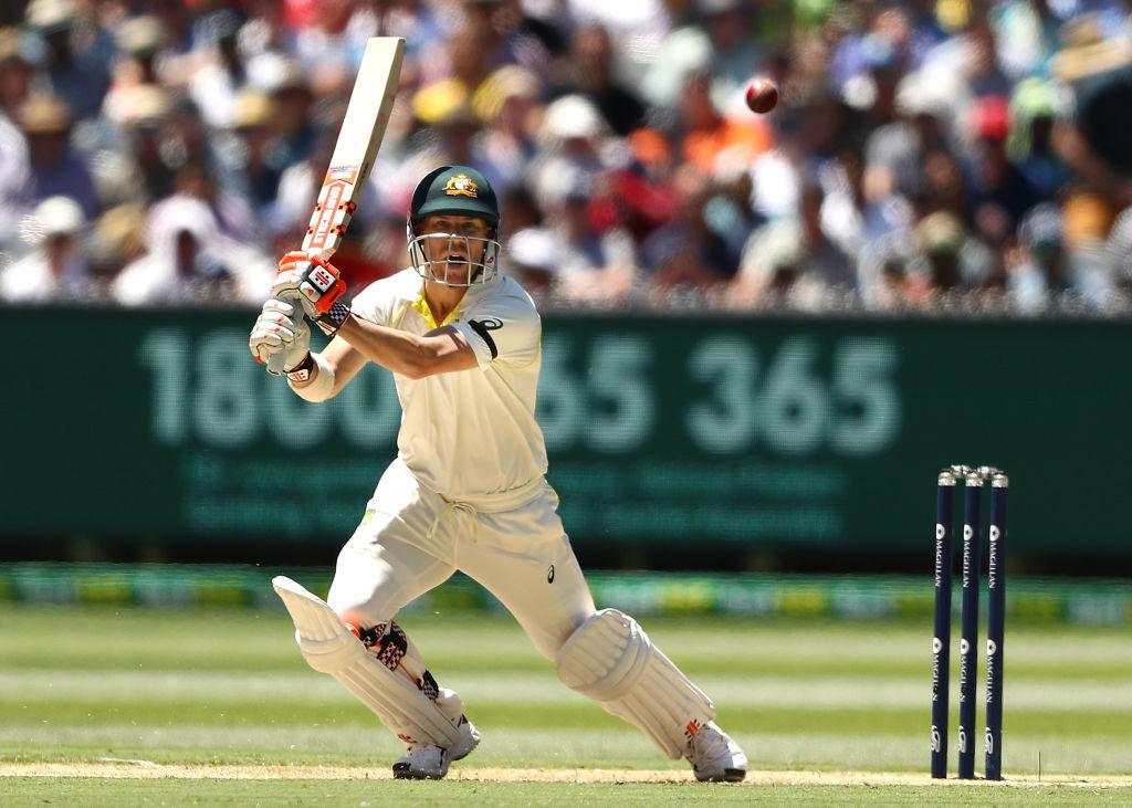 David Warner was handed a 12-month ban for his role in the ball-tampering incident