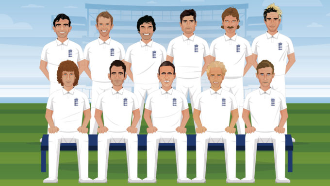 Revealed: England's best-ever Test XI – the votes are in