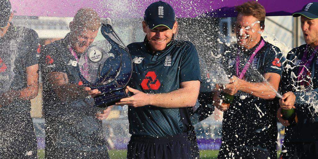 England won the ODI series 2-1