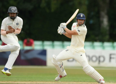 Alastair Cook signals return to form with unbeaten ton for England Lions