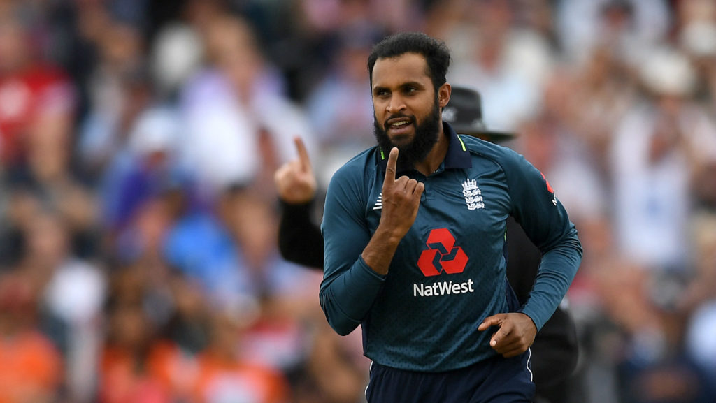 Adil Rashid took six wickets in the recently concluded ODI series against India