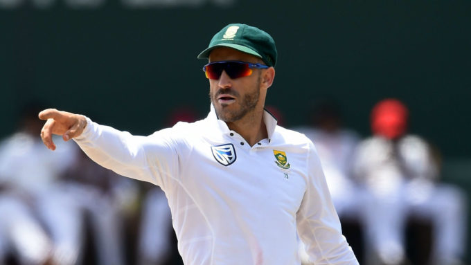 'We made a mistake in playing three seamers' – Faf du Plessis