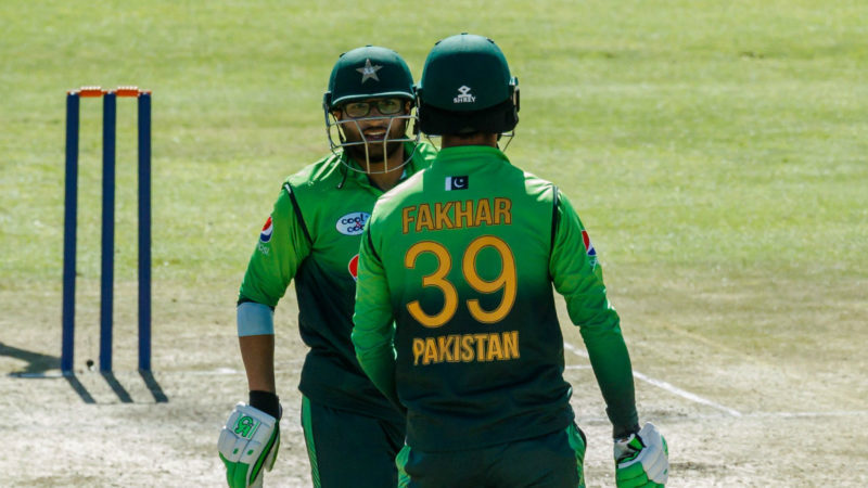 The Pakistan opening batsmen scored a whopping 910 runs between them in the series
