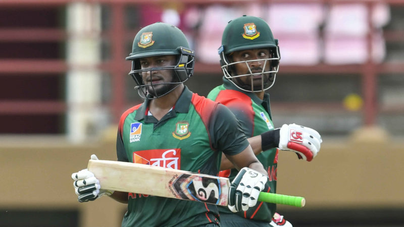 Shakib Al Hasan and Tamim Iqbal put together 207 runs for the second wicket