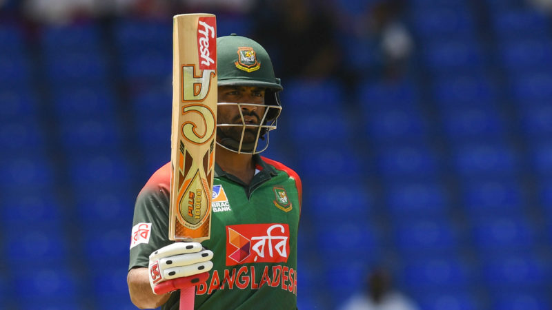 Tamim Iqbal scored two centuries and a half-century in the three games