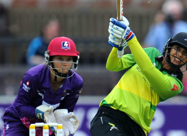 Smriti Mandhana smashes fastest Kia Super League fifty