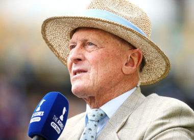 Geoffrey Boycott recovering after quadruple heart bypass surgery