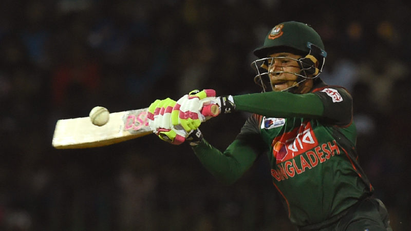 Mushfiqur Rahim's late blitz lifted Bangladesh to a winning total