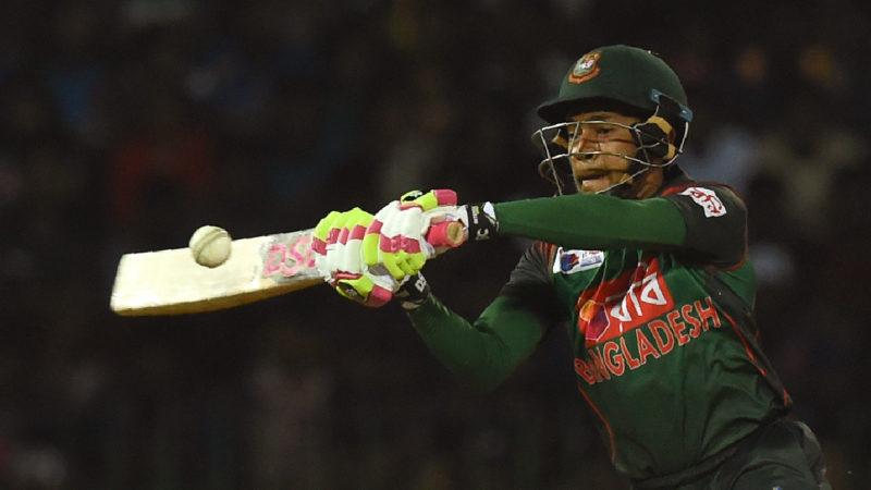 Mushfiqur Rahim's late blitz lifted Bangladesh to a winning total