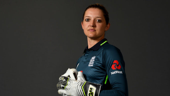 Improve your wicketkeeping with 'world's best' Sarah Taylor