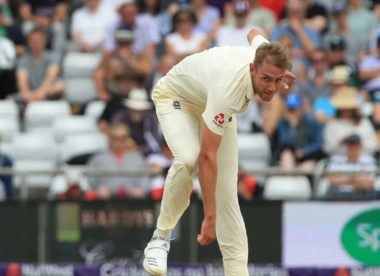 Stuart Broad prepared for being left out against India
