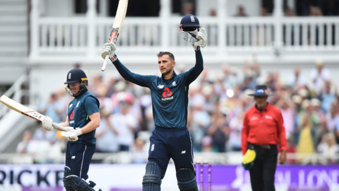 Eoin Morgan refuses to rule out Alex Hales World Cup return