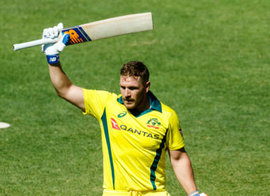 'It's special' – Aaron Finch looks back on record-smashing day