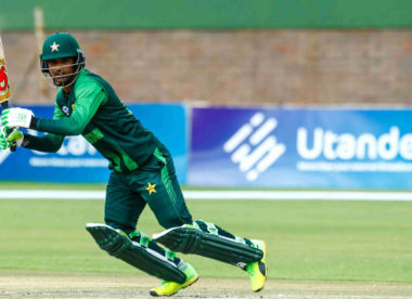 Records tumble as Fakhar Zaman has a blast in Zimbabwe