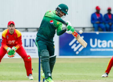 Pakistan batting records tumble in Bulawayo