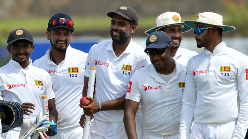 Dilruwan Perera and Rangana Herath picked up 15 wickets between them in Galle