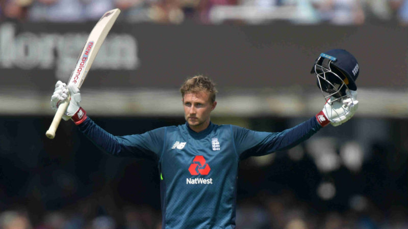 Root's century in the second ODI helped England pull level in the series