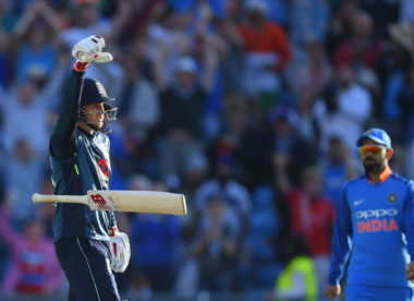 Bat drop celebration 'an absolute car crash', says Joe Root