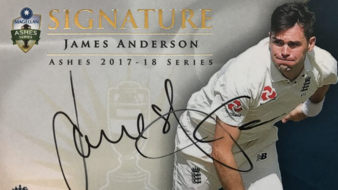 Win! Signed England player cards