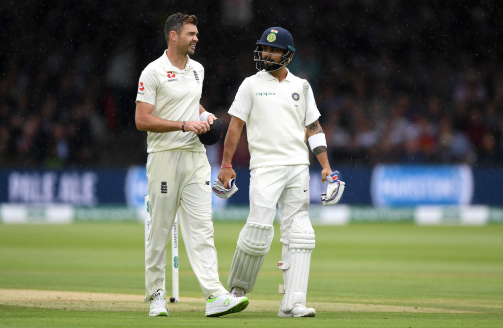 Anderson returned 5-20 to bundle India out for 107