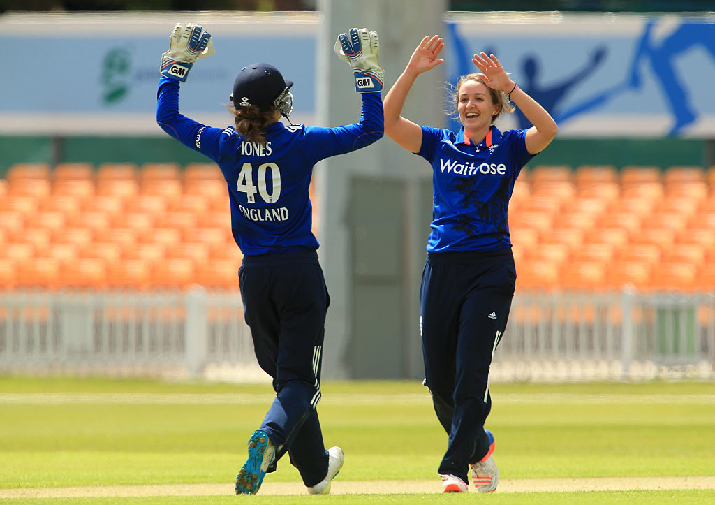 Kate Cross was among the first 18 women to be awarded ECB central contracts