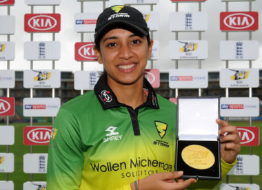 'First T20 century always special' – Smriti Mandhana