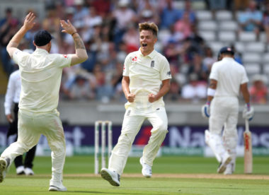 Swingin' Sam Curran spell rocks India