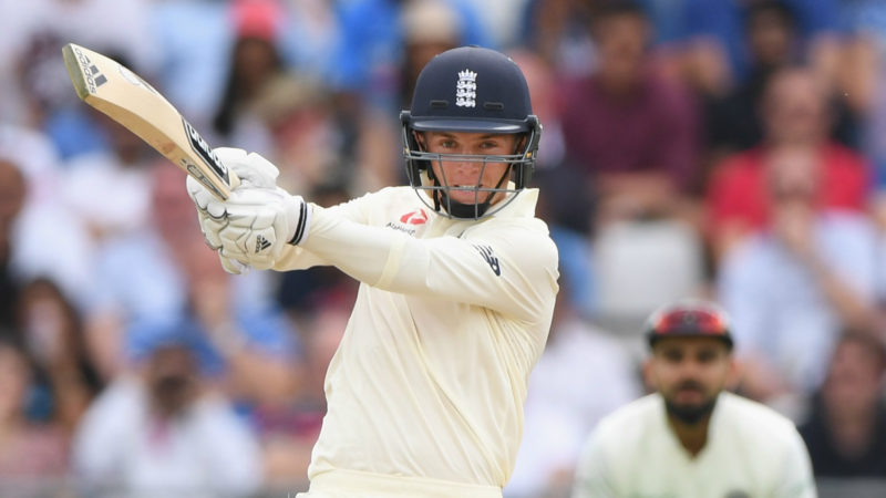 England have Curran to thank for keeping them in the game