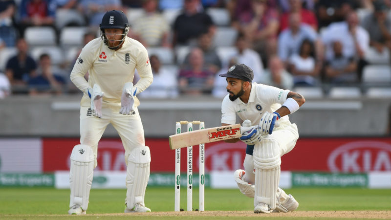 Kohli, in the main, stands between England and victory at Edgbaston