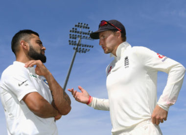 Virat Kohli and Joe Root keep close watch on Lord's surface