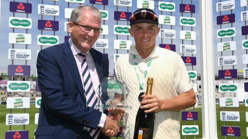 Curran put in a match-winning all-round performance at Edgbaston