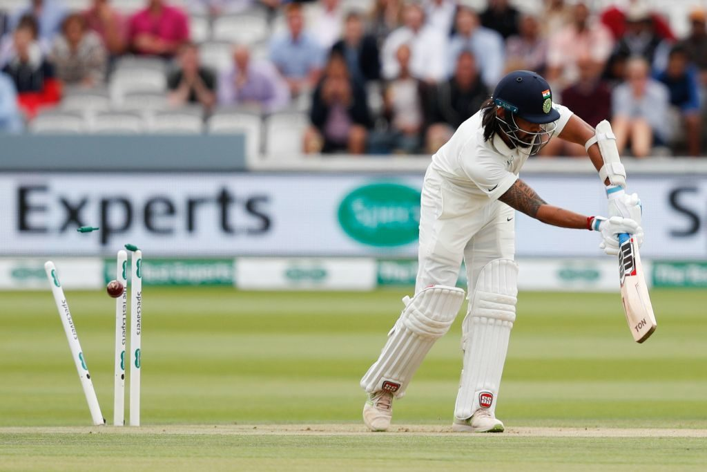 Murali Vijay was dropped after scoring a pair at Lord's